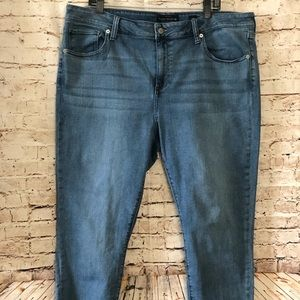 Lucky Brand Ginger Skinny Plus Size Jeans 20W